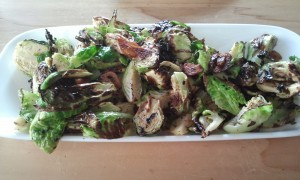 Burnt Brussels Sprouts