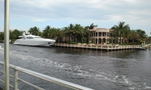 Another Nice Yacht and Home Viewed from the Water Taxi. Click photo for full size.