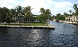Fort Lauderdale's Intracoastal Waterway. Click photo for full size.