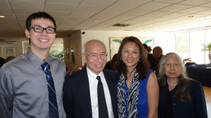 Noble, Gerald, Mavis, and Femma. Click photo for full size.