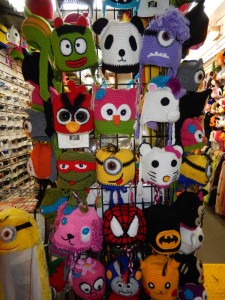 Many Unique Hats. Click photo to view full size.