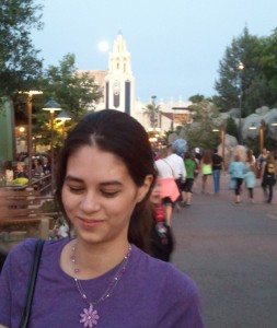 Joanna at California Adventure. Click photo for full size.