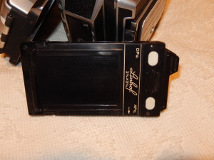Linhof Film Holder. Click photo for full size.